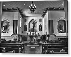 Acrylic Print featuring the photograph San Carlos Cathedral by Ron White