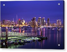 This Is San Diego Harbor Acrylic Print