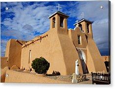 San Francisco De Asis Taos New Mexico 3 Acrylic Print by Bob Christopher
