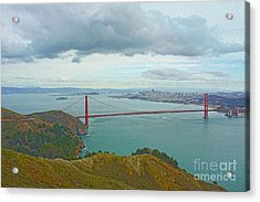 San Francisco Acrylic Print by Nur Roy
