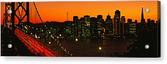 San Franscisco Ca Acrylic Print by Panoramic Images