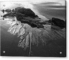 Sand Traces Acrylic Print