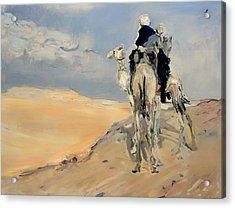 Sandstorm In The Libyan Desert Acrylic Print