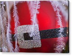 Santa Claus Ornament Acrylic Print by Birgit Tyrrell