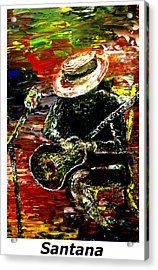 Santana  Acrylic Print by Mark Moore
