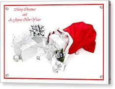 Santa's Bag Acrylic Print by Jan Tyler