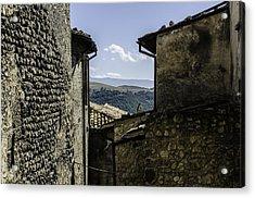 Santo Stefano Di Sessanio - Italy  Acrylic Print by Andrea Mazzocchetti