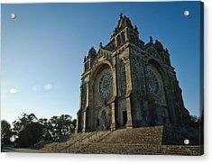 Santuario Do Sagrado Coracao De Jesus Acrylic Print