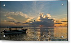 Acrylic Print featuring the photograph Sanur Beach - Bali by Matthew Onheiber