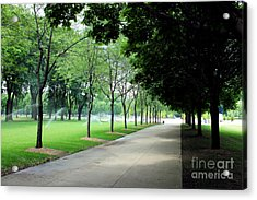 Saturday In The Park Acrylic Print
