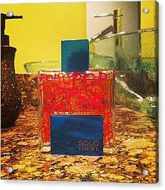 #scentoftheday #fragrance #cologne #men Acrylic Print