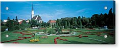 Schonbrunn Palace Vienna Austria Acrylic Print by Panoramic Images