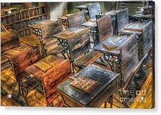 School Days Acrylic Print by Arnie Goldstein