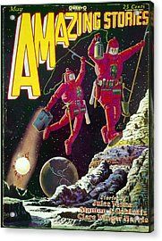 Science Fiction Cover 1929 Acrylic Print by Granger
