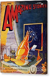 Science Fiction Cover 1930 Acrylic Print by Granger