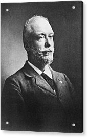 Scientist Auguste Forel Acrylic Print by Underwood Archives