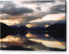 Acrylic Print featuring the photograph Scottish Loch by Elizabeth Lock
