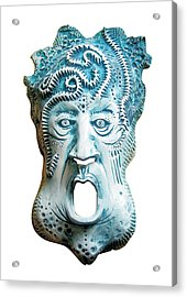 Scream Acrylic Print by Evin Pesic