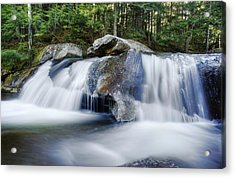 Screw Auger Falls Acrylic Print by Chris Babcock