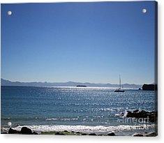 Sea In Tarifa Acrylic Print