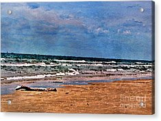Sea Sand Wc Acrylic Print