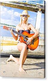 Sea Shore Serenade Acrylic Print