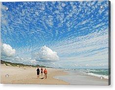 Acrylic Print featuring the photograph Seascape by Ankya Klay
