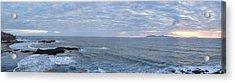Seascape Acrylic Print by Hugh Smith