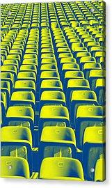 Seats Acrylic Print