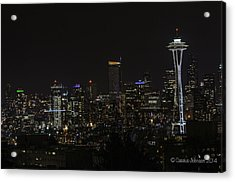 Seattle Skyline 1 Acrylic Print