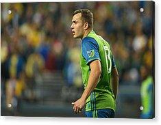 Seattle Sounders V Club America - Concacaf Champions League Acrylic Print by Matthew Ashton - AMA