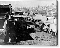 Acrylic Print featuring the photograph Seattle, Washington, 1880s by Granger