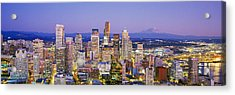 Seattle, Washington State, Usa Acrylic Print by Panoramic Images
