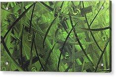 Seaweed Acrylic Print by Lisa Williams