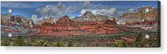 Secret Mountains Acrylic Print