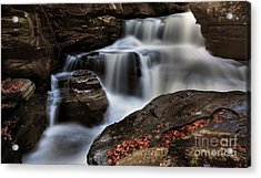 Secret Waterfall Acrylic Print
