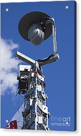 Security Camera On Tower Acrylic Print