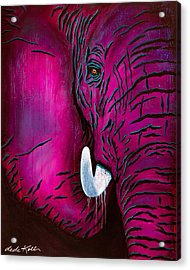 Seeing Pink Elephants Acrylic Print
