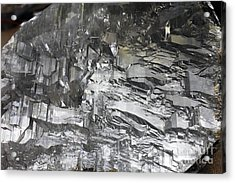 Selenite Mineral Sample Acrylic Print