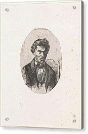 Self Portrait Of Frederick Henry Weissenbruch Acrylic Print