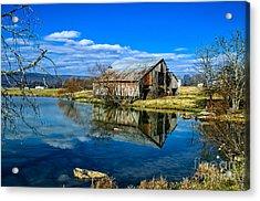 Sequatchie Valley Barn Acrylic Print