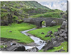 Serpent River Bridge Dunloe Acrylic Print by Jane McIlroy