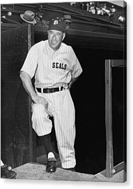 Sf Seals Manager Lefty O'doul Acrylic Print