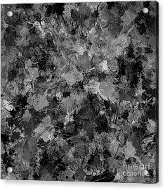 Shades Of Gray Acrylic Print