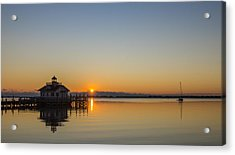 Acrylic Print featuring the photograph Shallowbag Bay Sunrise by Gregg Southard