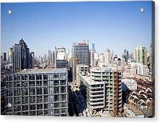 Shanghai Acrylic Print by Adam Hart-davis/science Photo Library