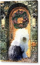 1 Sheepdog Acrylic Print