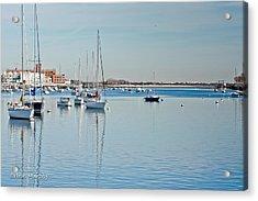 Acrylic Print featuring the photograph Sheepshead Bay Harbor by Ann Murphy