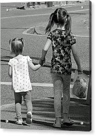 Acrylic Print featuring the photograph She's My Sister by E Faithe Lester