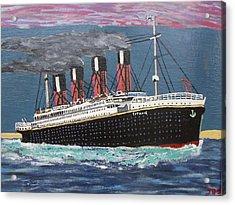 Ship Of Dreams Acrylic Print by Jose Bernal